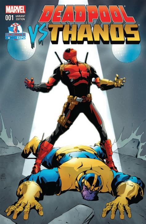 Marvel Comics Review & Spoilers Deadpool Vs Thanos #1