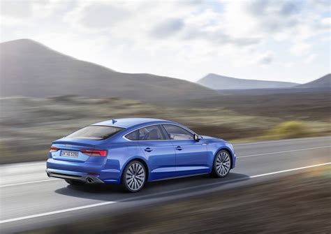 2017 Audi A5 And S5 Sportback