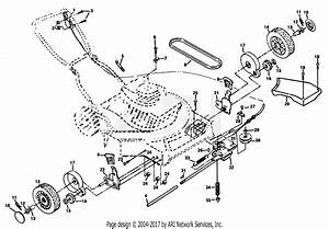 Poulan Pp750p Mower Parts Diagram For Drive Assembly