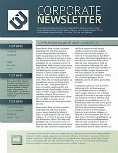 Company Internal Newsletter Template
