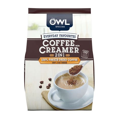Everyday favourites 2in1 coffee with creamer 25sx12g owl. OWL | Everyday Favourites 2in1 Coffee With Creamer 25sX12g ...