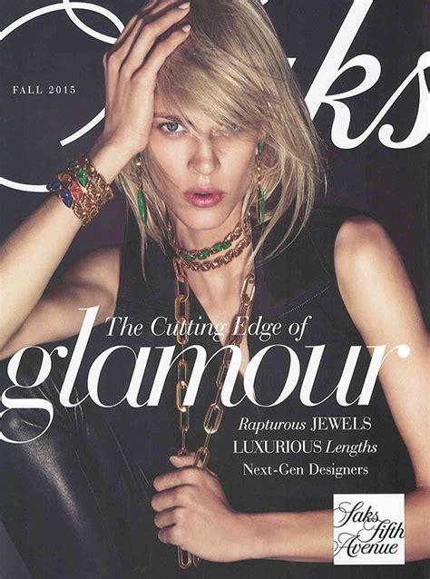 saks  avenue jewelry catalog press katy briscoe