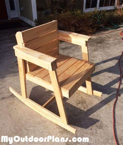 diy rocking chair myoutdoorplans free woodworking