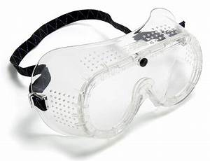 Blackrock Direct Vented Safety Goggles Eye Work Wear Clear ...