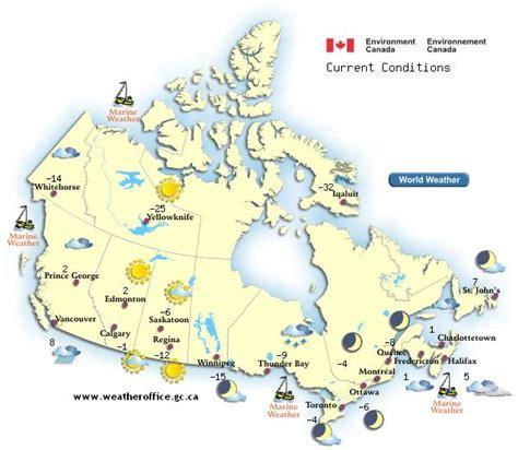 canada weather map environment enviroment stuffintheair forecast report think wetterkarte kanada reproduced