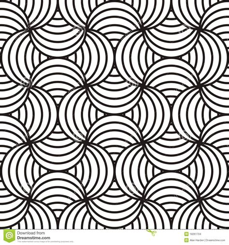 Abstract Vector Design Black And White by Black White Swirling Design Stock Vector Illustration