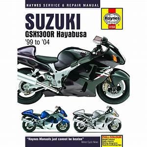 Aw Motorcycle Parts  Haynes Manual 4184 Suzuki Gsx1300r