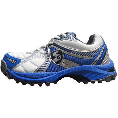 sg striker cricket shoes blue buy sg striker cricket