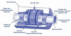 Diagram Of A Wet  Oil  Seal   Courtesy Of Natural Gas Star