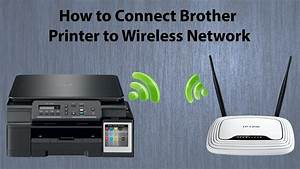 Brother Dcp T500w Wifi Setup
