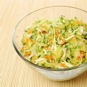 Salat Mit Zucchini : zucchini wei kohl salat dr goerg ~ Lizthompson.info Haus und Dekorationen