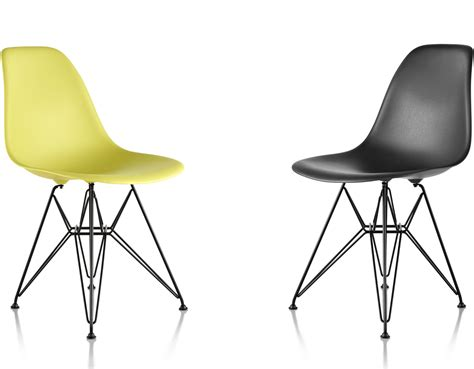 eames plastic side chair eames 174 molded plastic side chair with wire base