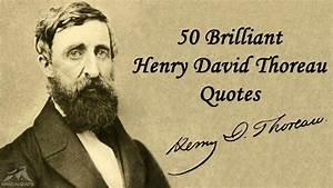 50 Brilliant He... Thoreau Book Quotes