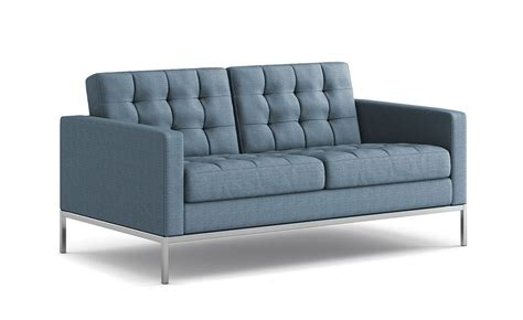 Florence Knoll Settee by Florence Knoll Relaxed Settee Hivemodern