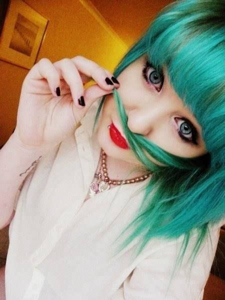96 Best Images About Candy Colored Hair Just Teal With It