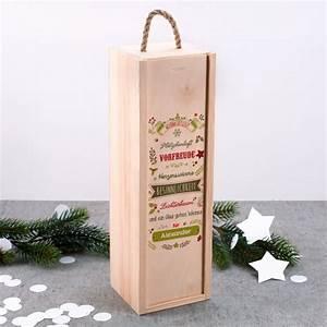 Holzkiste Mit Namen : holzkiste als geschenkverpackung mit weihnachtsmotiv ~ Bigdaddyawards.com Haus und Dekorationen