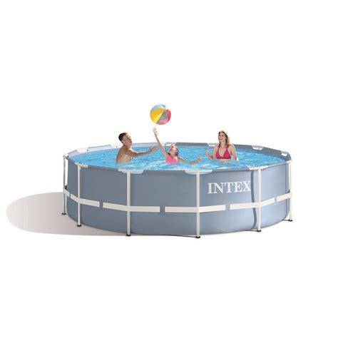 piscine intex tubulaire 3 66 piscine tubulaire ronde intex prism frame 3 66 x 0 99 m