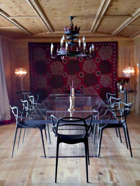 chaise starck kartell la chaise masters réalisée par philippe starck