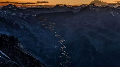 Stelvio Pass Italy Bing Alps Night Italian