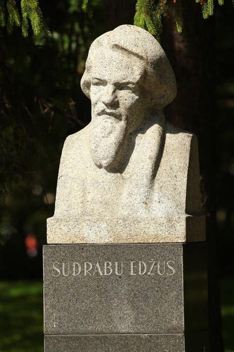 Monument To Sudrabu Edzus In Riga, Latvia Editorial Image ...