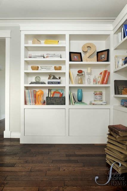 bookcases that look like built ins built in look from ikea bookcases storage ideas pinterest