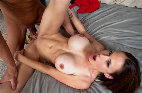 Wife Mckenzie Lee Fucking In The Chair With Her Tits