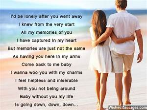 I Miss You Poems for Girlfriend: Missing You Poems for Her