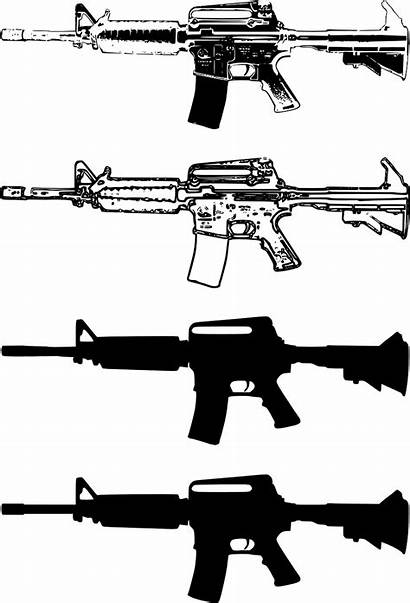 Assault Weapons Guns Machine Gun States Pink