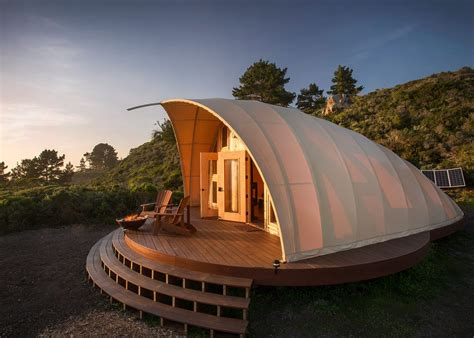 architect creates  ultimate  grid glamping spot homes