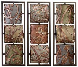 splendid design ideas decorative metal wall panels with 80 With decorative metal wall art panels