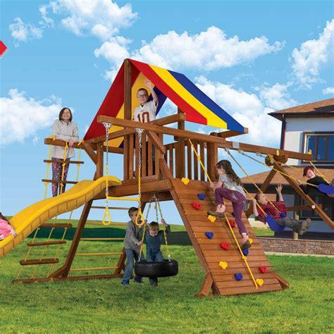 rainbow swing sets all rainbow play systems rainbow play systems