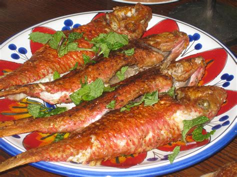 panais cuisiner mullet with romesco sauce recipe food recipe