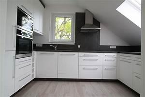 Küche Unter Der Dachschräge : u k che in dachschr ge schreinerei oliver gorr ~ Lizthompson.info Haus und Dekorationen