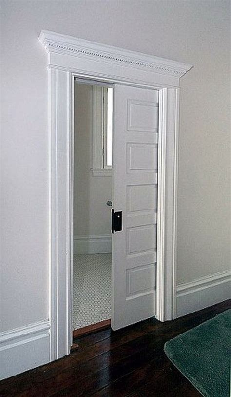 corner opening pocket doors images  pinterest