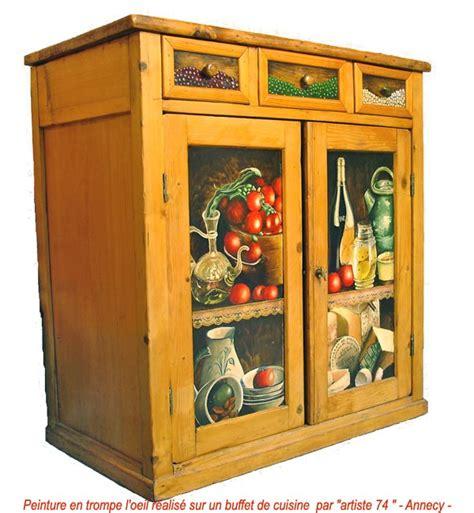 peinture sur meuble cuisine peinture en trompe l oeil annecy decoration meubles et