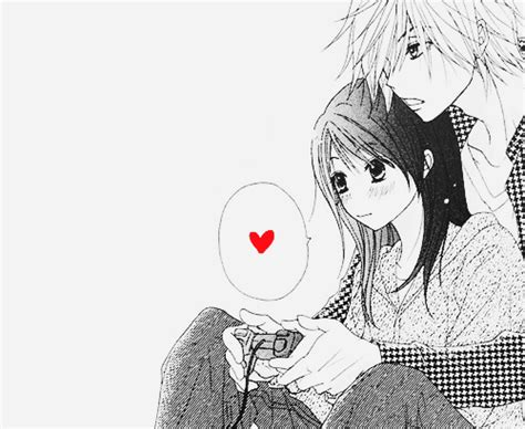 anime couple playing video games manga dengeki daisy world of ju ju7