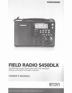 Eton Field Radio 550 Owner S Manual