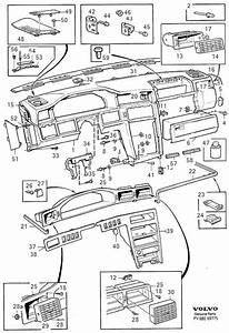 Volvo 960 Louvre  Dashboard  Driver U0026 39 S Side  Section