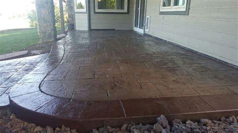 concrete patio denver image best 25 sted concrete driveway ideas on