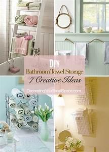 diy bathroom towel storage 7 creative ideasbathroom With 7 creative ideas for bathroom towel storage