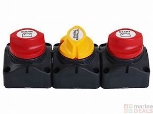 Buy Bep Marine Dual Battery Switches With Emergency Parallel Online At Marine