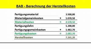 Variable Kosten Pro Stück Berechnen : kosten leistungsrechnung wissenschaft und tachnik ~ Themetempest.com Abrechnung