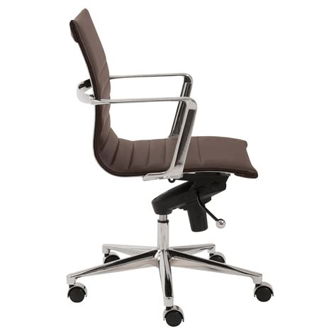atticus contemporary low back office chair zuri furniture