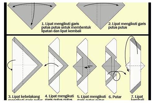 baixar gambar cara membuat origami burung