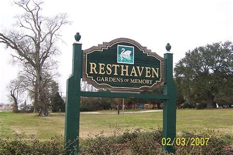 resthaven cemetery resthaven cemetery in baton