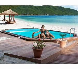 Piscine Bois Pas Cher : piscine bois carrefour vivapool piscine bois malaga ~ Melissatoandfro.com Idées de Décoration