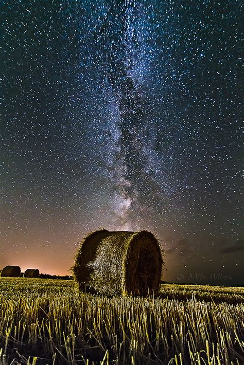 Mike Wilson Photography Milky Way Hay Bale