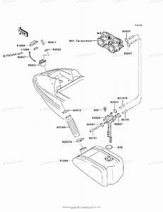 Kawasaki Jet Ski 2000 Oem Parts Diagram For Fuel Tank