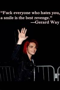Gerard Way images Gerard Way Quotes HD wallpaper and ...