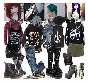 """""""Grunge style :)"""" by indie-psycho liked on Polyvore ..."""